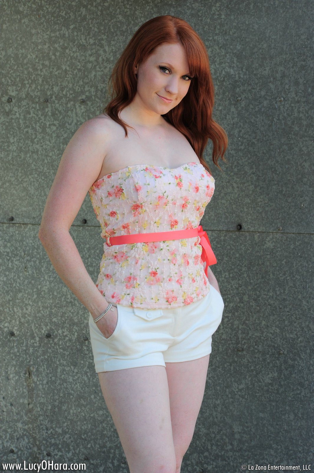 Sexy Redhead Lucy Ohara Upskirt - Lucy Ohara slides at large be advisable for their similarly ...