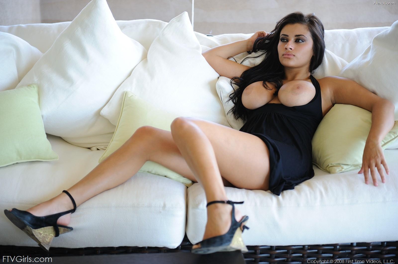 Loren natural alexa boobs