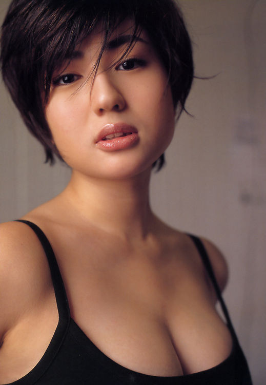 Hair short nude girl asian